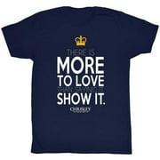 Chrisley Knows Best Men's  Love T-shirt Navy