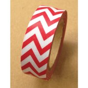 Love My Tapes Washi Tape 15mmX10m-Red Chevron