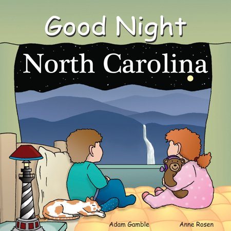 Good Night North Carolina (Board Book) (Halloween Nights North London)