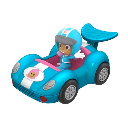 Special-Bubble Guppies Vehicle and Figure-Molly's Fin-tastic Racer