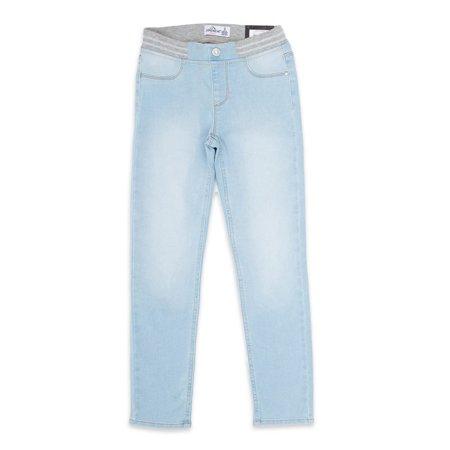 Jordache Girls Rib Waist Skinny Jeans, Size 5-18