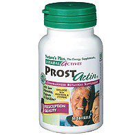 ProstActin Herbal Actives Formula Nature's Plus 60 Softgel