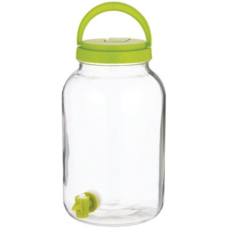 Circle Glass 89656 Sun Tea Jar With Tapper, Clear ()