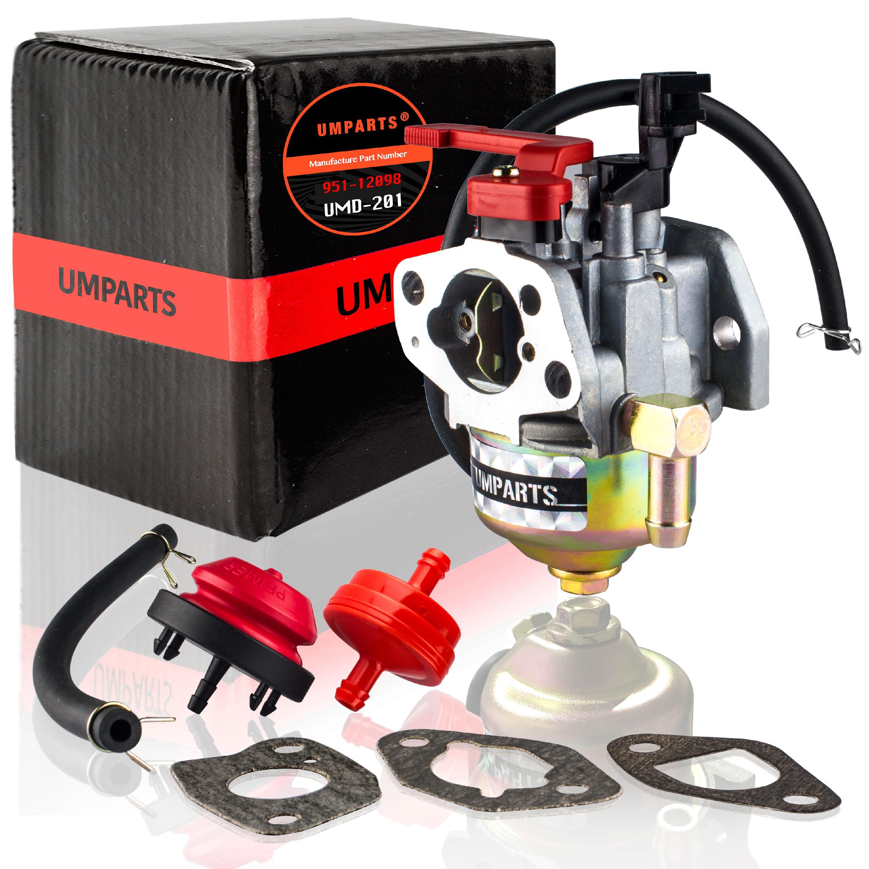 UMPARTS UMD-201 Carburetor for MTD Cub Cadet Troy Bilt 751-12011 951-12011  951-12704