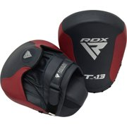 RDX Boxing Pads Focus Mitts   Curved Hook and Jab Hand Target Padded Strike Shield   Great for MMA, Punching, Martial Arts, Muay Thai, Boxercise, Kickboxing, Karate & Coaching Training