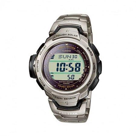 Retro Pathfinder Solar Atomic Titanium Watch PRW500T-7V