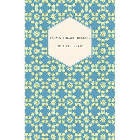 Essays - Hilaire Belloc - eBook