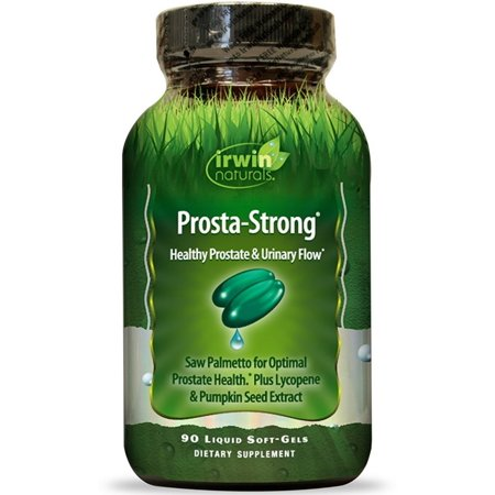 2 Pack - Irwin Naturals Prosta-Strong Dietary Supplement Liquid Gel Caps 90