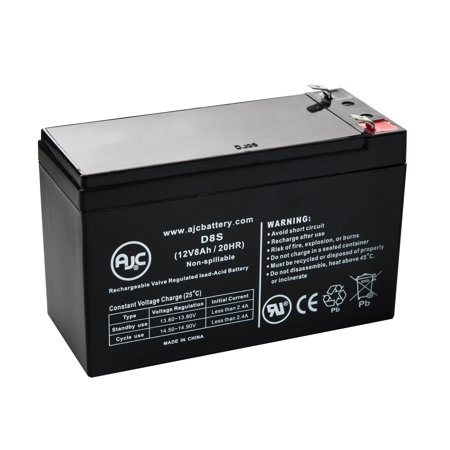 APC Smart-UPS 2200VA USB RM (DLA2200RM2U 12V8AH) 12V 8Ah UPS Battery - This is an AJC Brand Replacement (Rm 2 U Ups)