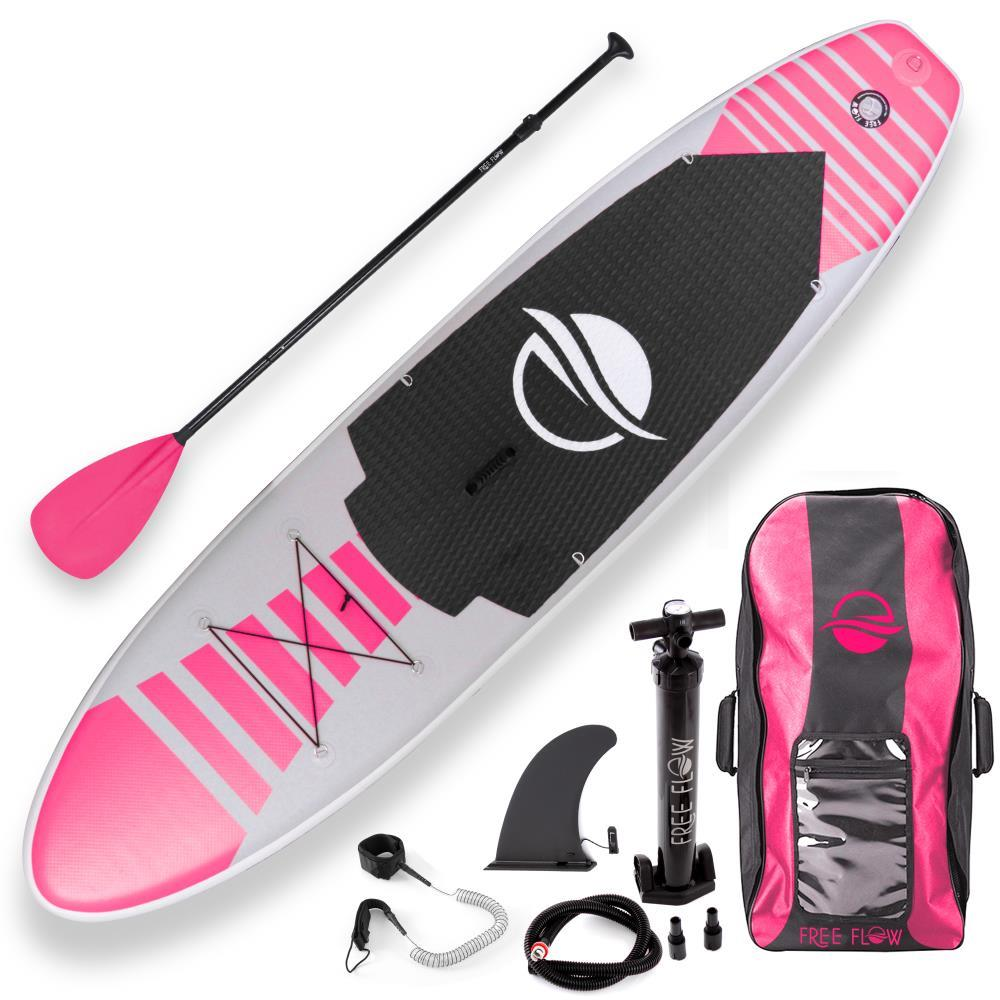 SereneLife Premium Inflatable Stand Up Paddle Board (6 Inches Thick) w  SUP Accessories and Carry Bag | Wide Stance,... by SereneLife