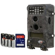 WildGame Innovation Sports & Outdoors New Micro T Series 7MP Game Camera Bundle with SD Card and Batteries Included