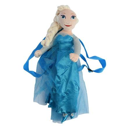 Girls Frozen Movie Elsa Plush Doll 18