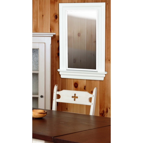 Kenroy Home Juliet Wall Mirror, White Gloss