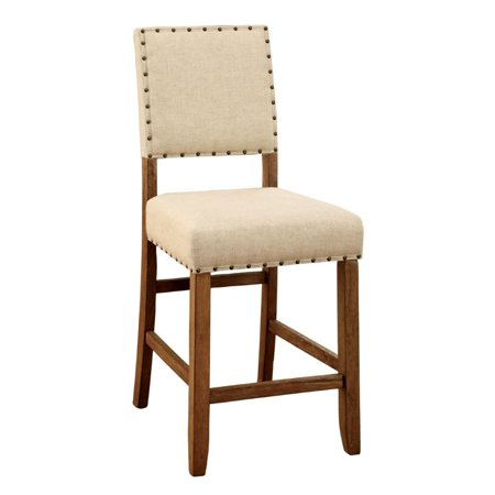 """Bowery Hill 25"""" Counter Stool in Beige (Set of 2) - image 2 of 2"""