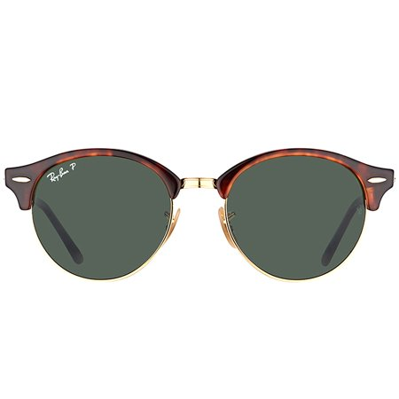 33d7cf3dcb ... 51mm Havana EAN 8053672580952 product image for Ray-Ban Clubround  Tortoise Sunglasses