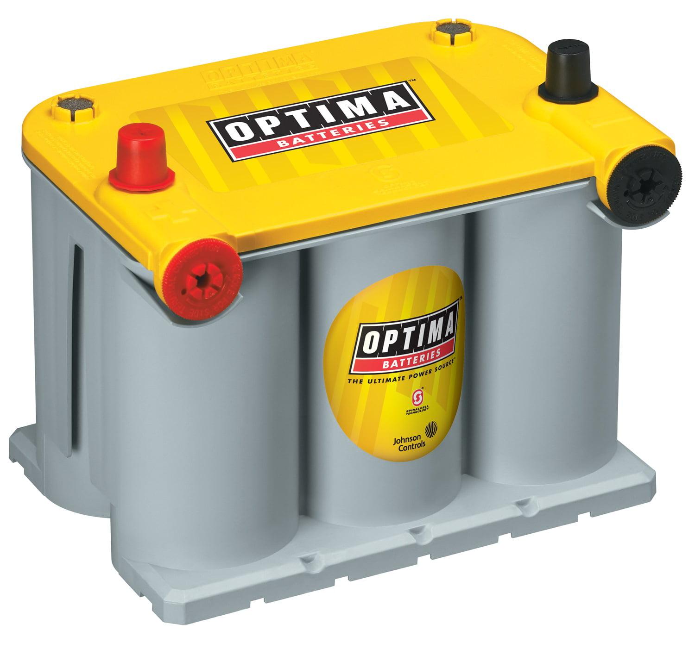 OPTIMA YellowTop Dual Purpose Battery, Group 75/25