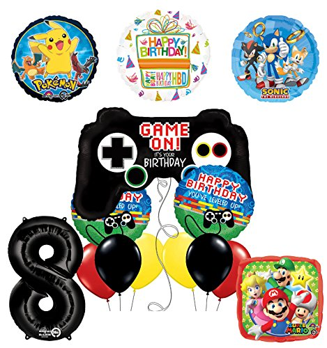The Ultimate Video Game 7th Birthday Party Supplies