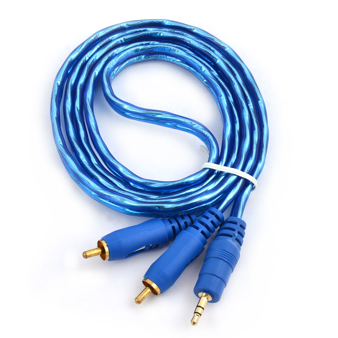 35mm male to 2 rca male plug audio stereo cable 49ft long for tablet keyboard keysfo Image collections