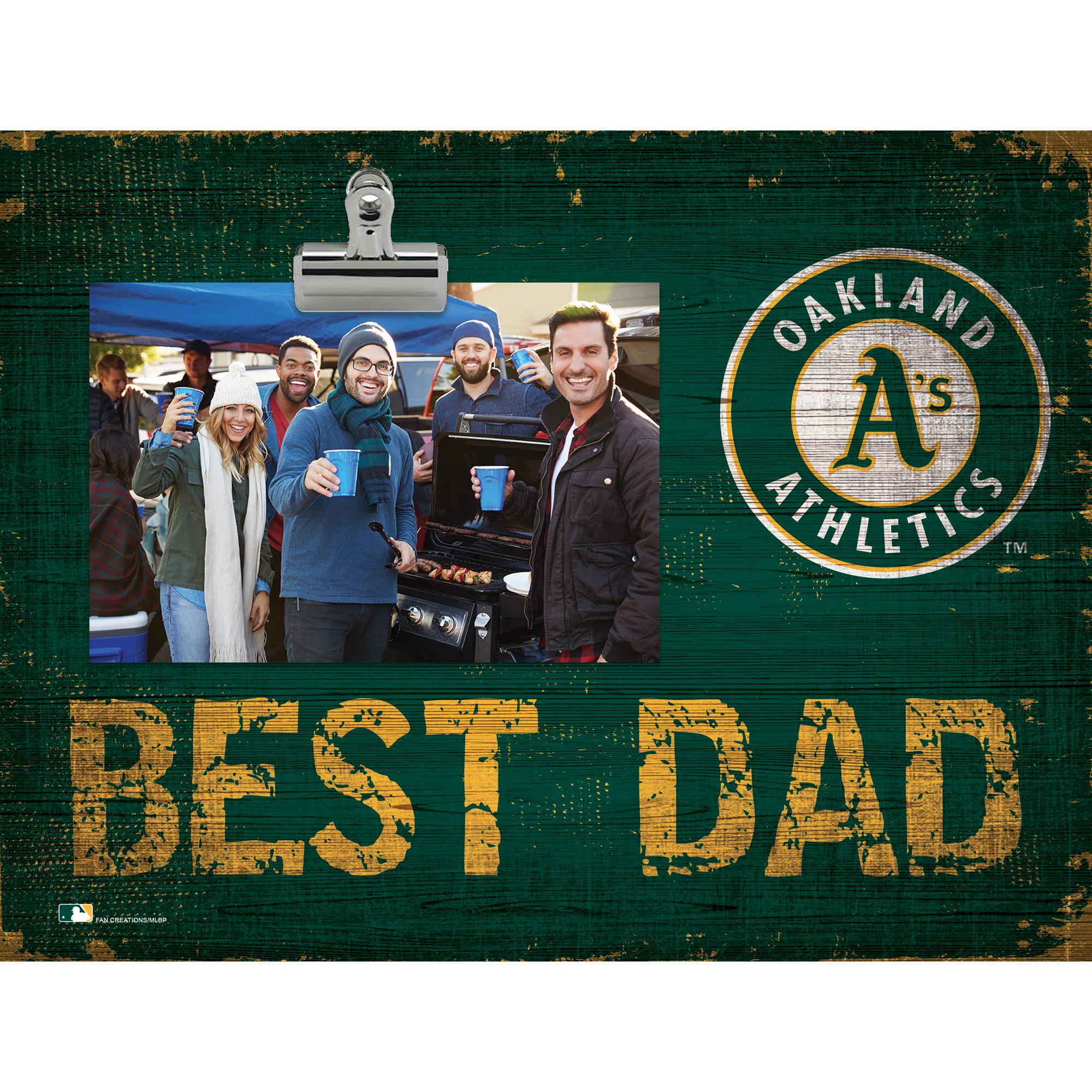 Oakland Athletics 8'' x 10.5'' Best Dad Clip Frame - No Size