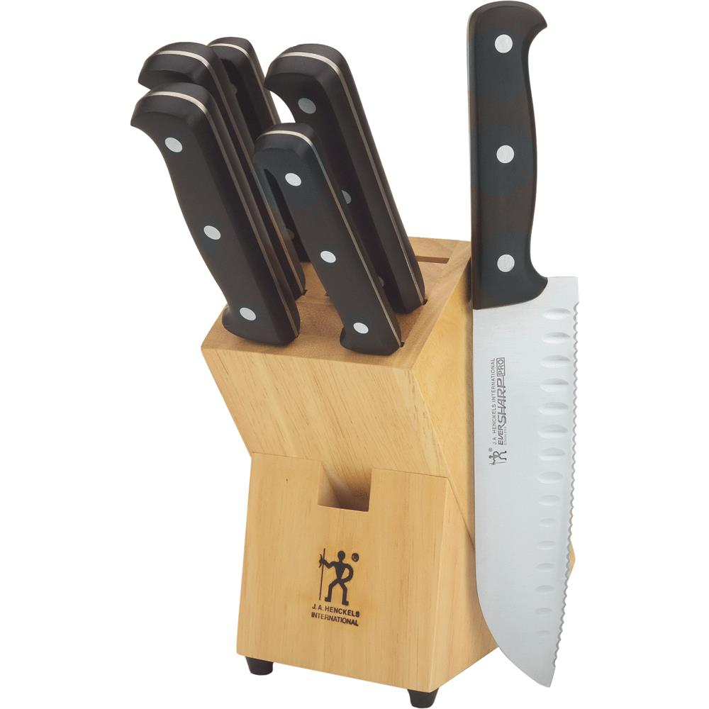J.A. Henckels International Eversharp Pro 7-pc Knife Block Set