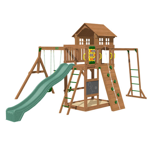 Creative Playthings Cypress Wooden Swing Set