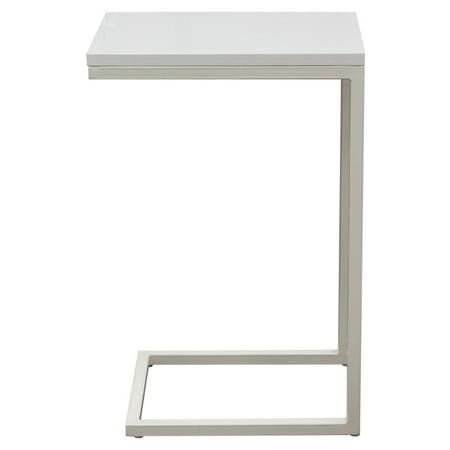Diamond Sofa Sleek Metal Frame Accent Table