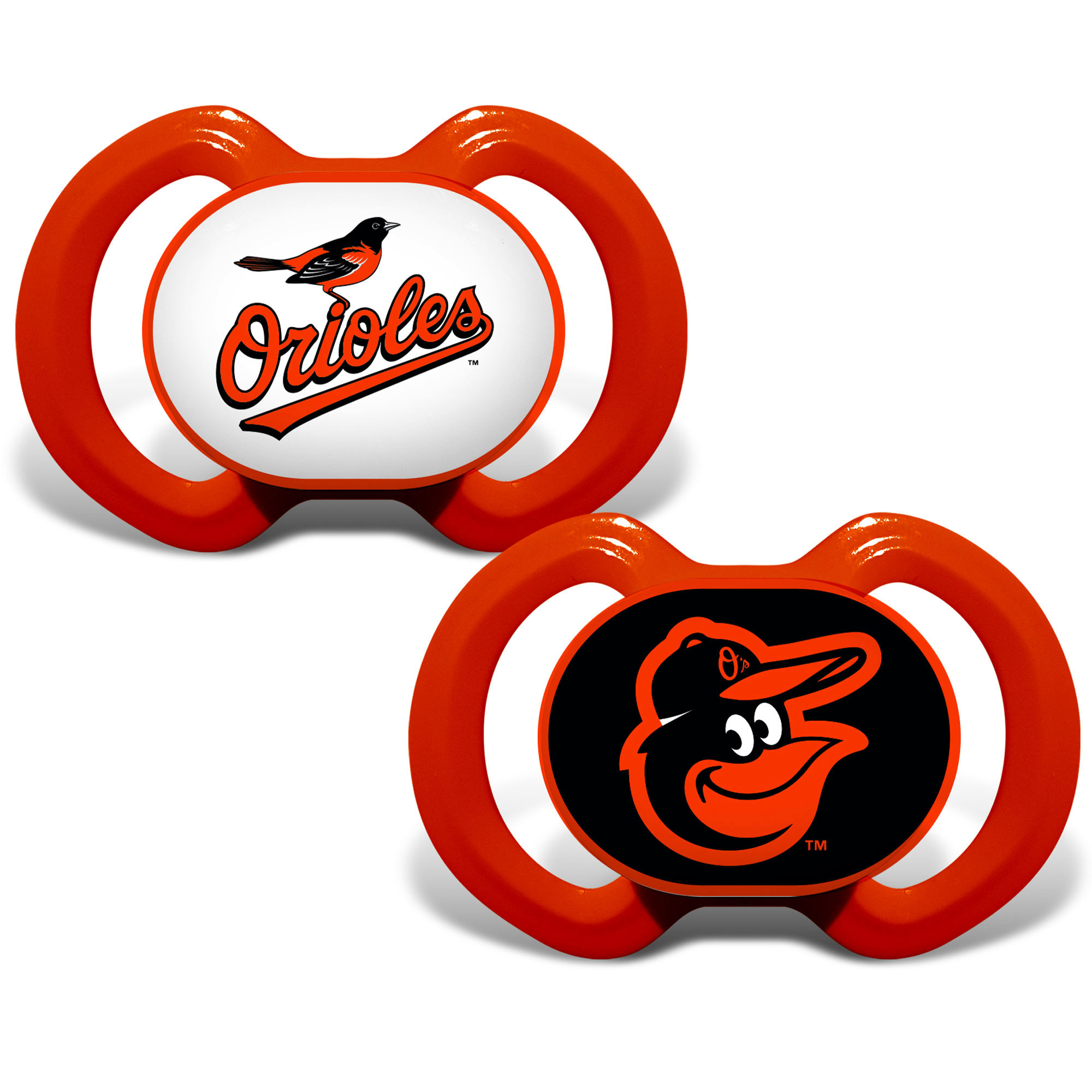 MLB Baltimore Orioles 2-Pack Pacifiers