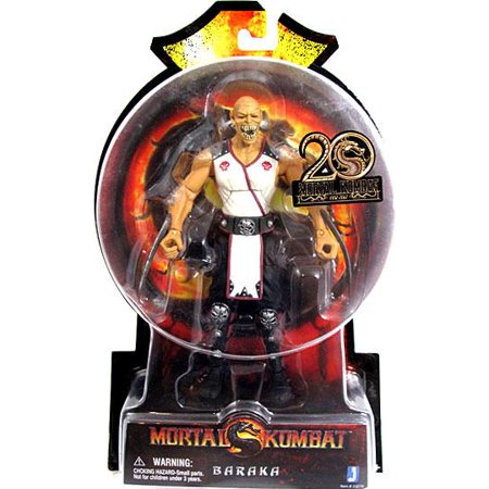 Mortal Kombat 20th Anniversary Baraka Action Figure - Baraka Mortal Kombat