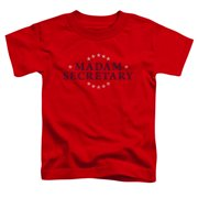 Madam Secretary Distress Logo Little Boys Shirt