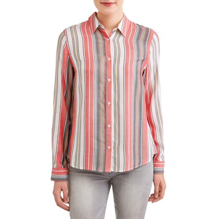 Faconnable Striped Shirt (Women's Stripe Shirt )