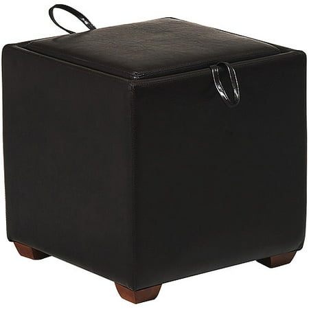 Metro Small Storage Ottoman With Tray D Walmart Com