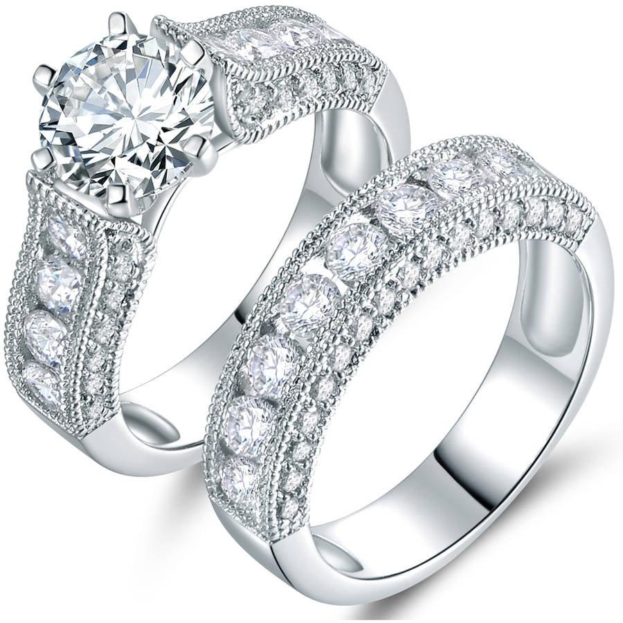 Wedding Ring Sets Walmartcom