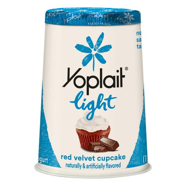 Yoplait Light Fat Free Yogurt Red Velvet Cupcake 6 Oz Walmart Com Walmart Com