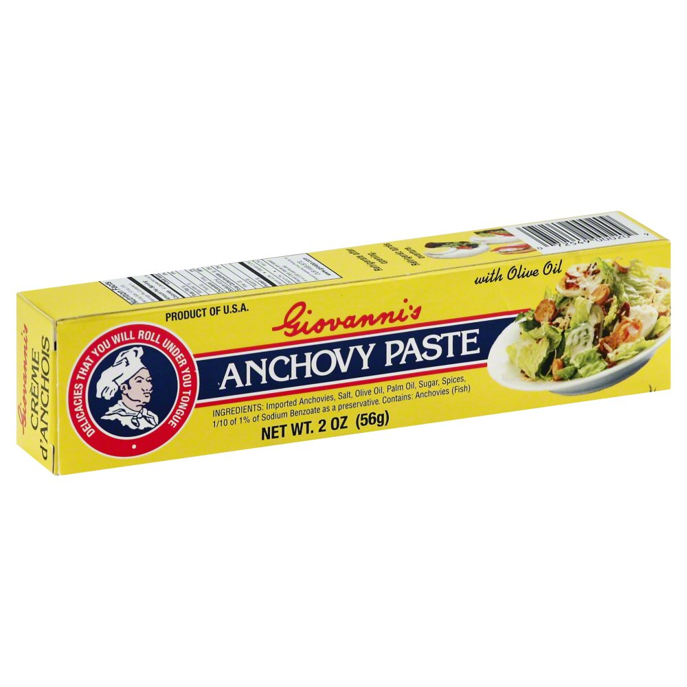 Giovannis Appetizing Food Prod Giovannis  Anchovy Paste, 2 oz
