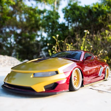 KillerBody 48720 257mm Finished Body Shell for 1/10 Drift On-road