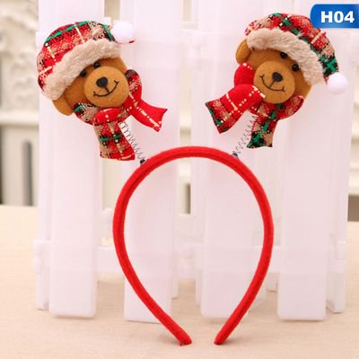 KABOER 2019 New Christmas Headband  Children's Gift Christmas Party Supplies Christmas Decorations2019 New Christmas Headband  Children's Gift Christmas Party Supplies Christmas Decorations ()