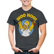 Homer Simpson Woohoo Men's Graphic Tee