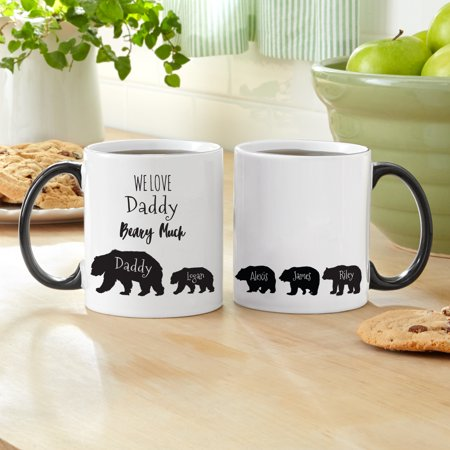 Personalized Love You Beary Much 11 oz Mug - 1 - Beary Sweet Gift