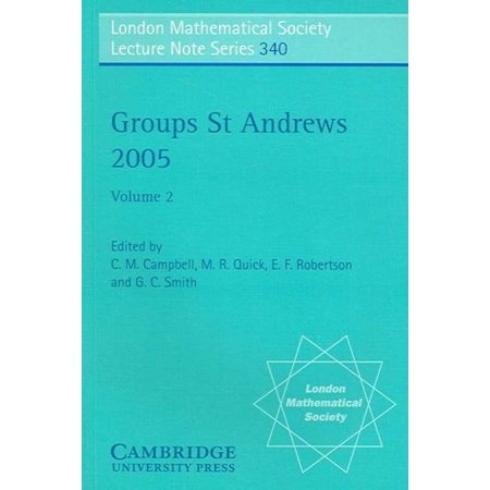 Groups St Andrews 2005  9780521694704