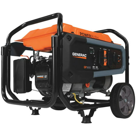 Generac 7677 - GP3600 3600 Watt Portable Generator, 49-State /CAN