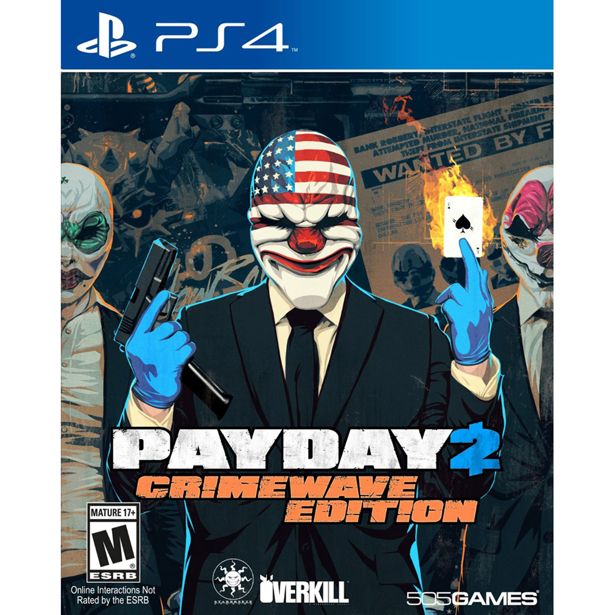 Payday 2 Crimewave (PS4)