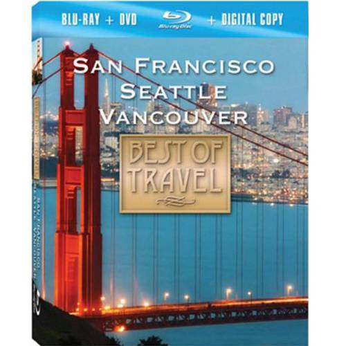 Best Of Travel: San Francisco, Seattle, Vancouver (Blu-ray   DVD)