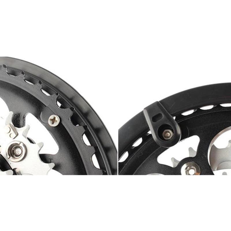 5 Holes Bike Bicycle Crankset Cap Protect Chain Wheel Cover  Guard  Plastic