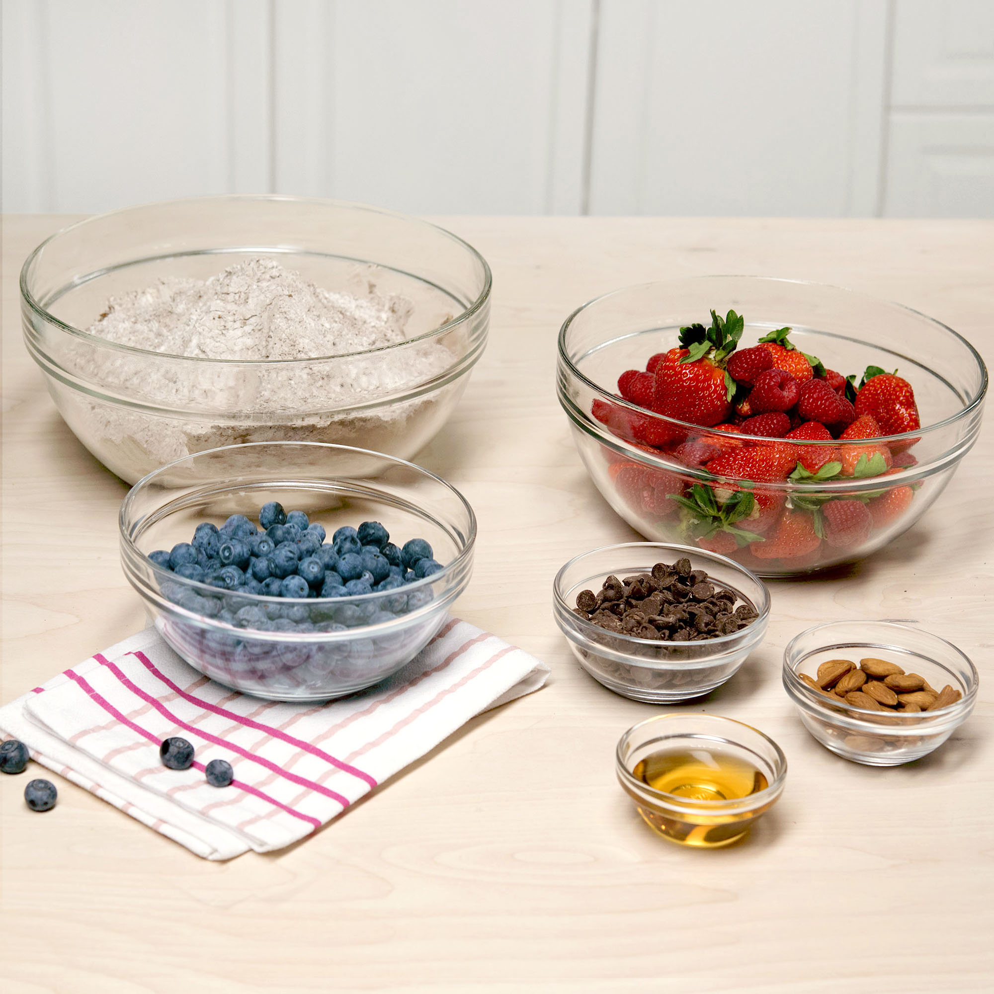 Tasty 6pc Mixing And Pinch Bowl Set by Tasty
