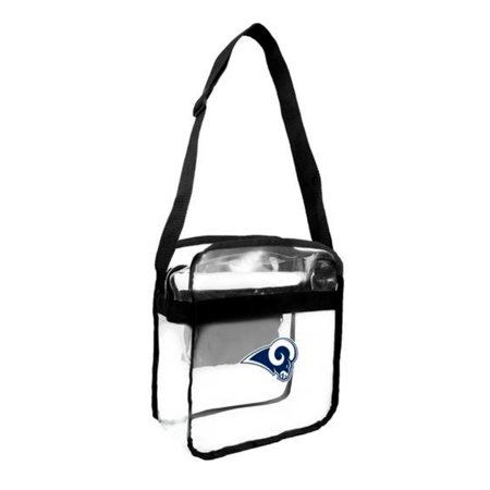 Halloween Body Paint Los Angeles (Little Earth - NFL Clear Carryall Cross Body Bag, Los Angeles)