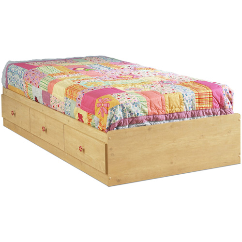 "Lily Rose Twin Mates Bed (39"")"
