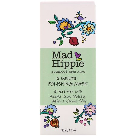 Mad Hippie Skin Care Products  2 Minute Polishing Mask  1 2 oz  35 (10 Minute Mask To Rescue Problem Skin)