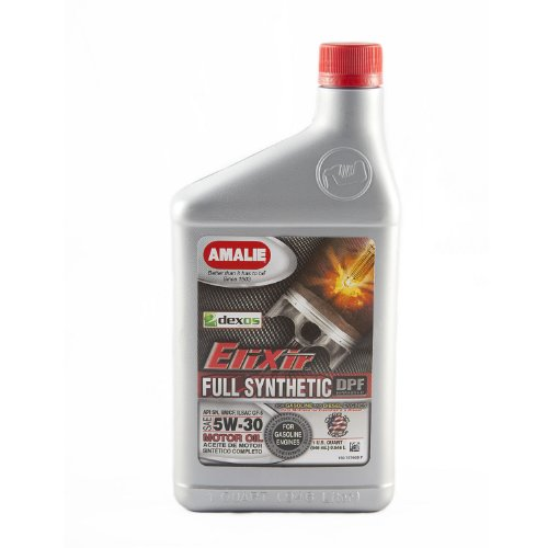 Amalie (75766-56) Elixir 5W-30 Full Synthetic Motor Oil - 1 Quart Bottle