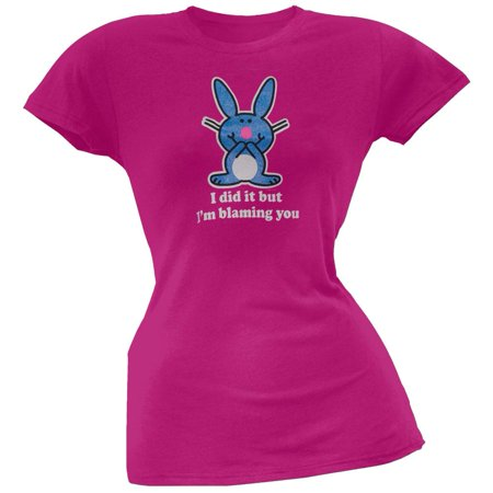 Happy Bunny - Blaming You Juniors -