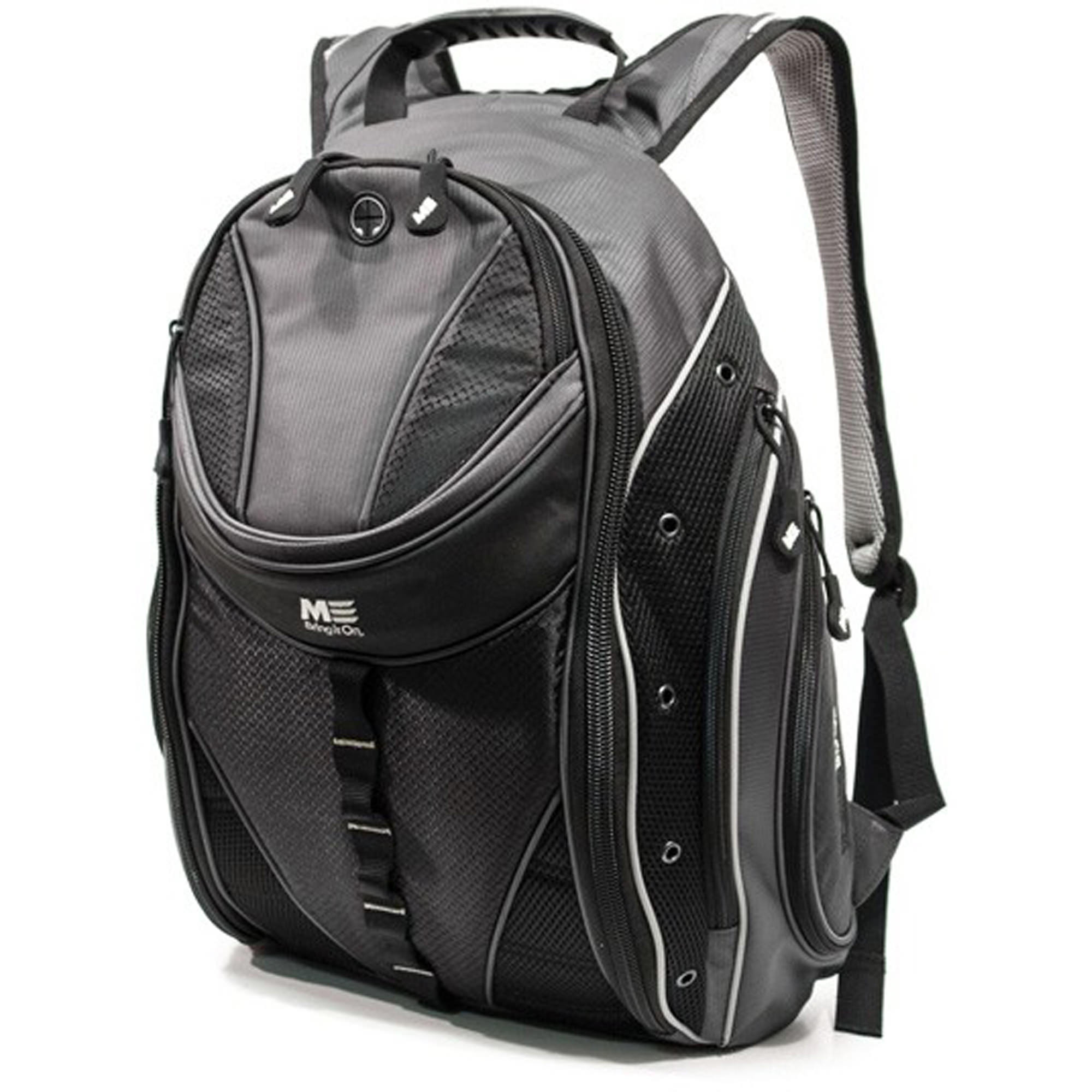 "Mobile Edge MEGBPE Graphite Express 15.6"" Laptop/Tablet Backpack 2.0 - Graphite"